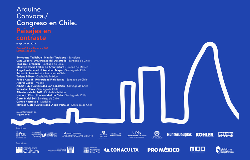 Congreso Arquine, Chile